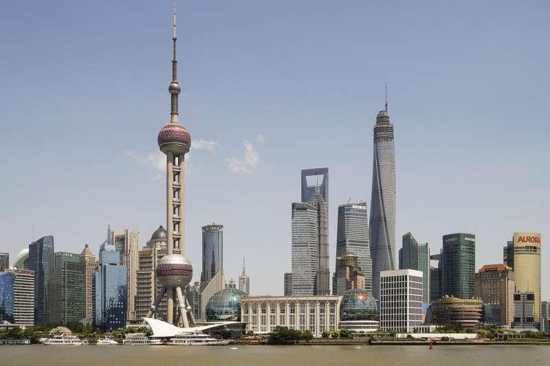 中國上海。(by Hobbyfoto@pixabay)