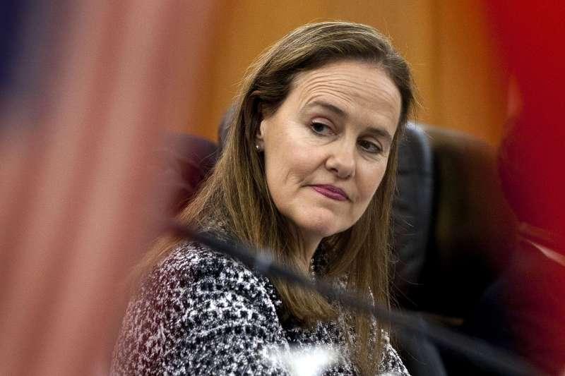 拜登內閣:美國國防部長人選之一的前政策次長傅洛諾伊(Michèle Flournoy)(資料照,AP)