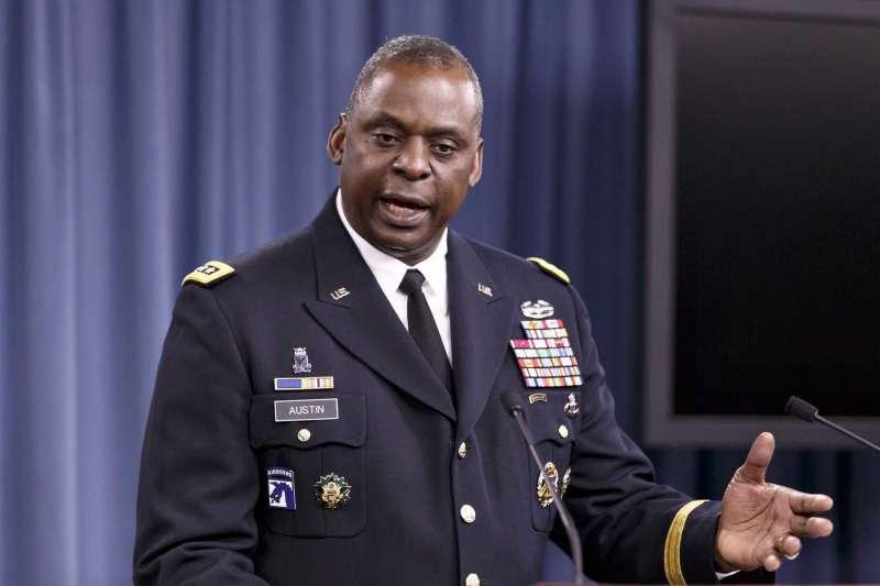 拜登內閣:美國國防部長人選、退役陸軍四星上將奧斯丁(Lloyd Austin)(資料照,AP)