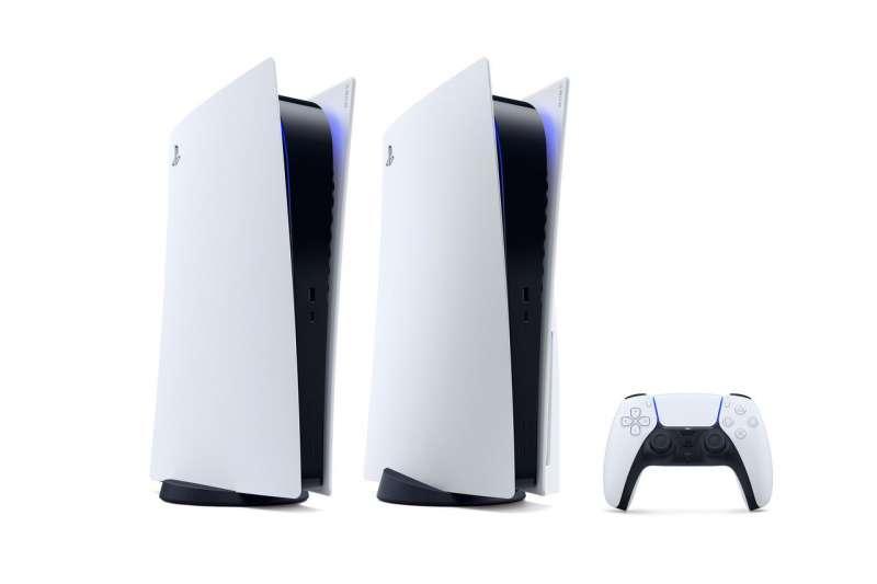 Sony新一代遊戲主機PlayStation 5(圖片來源:SONY INTERACTIVE ENTERTAINMENT )