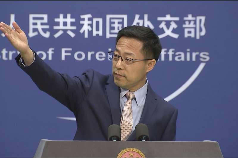 中國戰狼外交官趙立堅(AP)