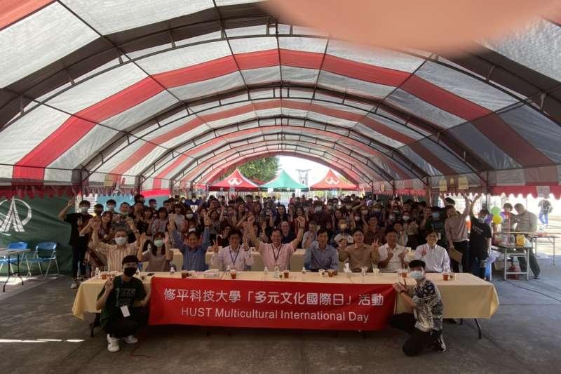 修平科技大學12:2日辦理「多元文化國際日」活動。邀請來自印尼、馬來西亞、越南、韓國、日本、英國、美國等國家專家、學者,共同推動多元文化教育有關的議題。(圖/記者王秀禾攝)