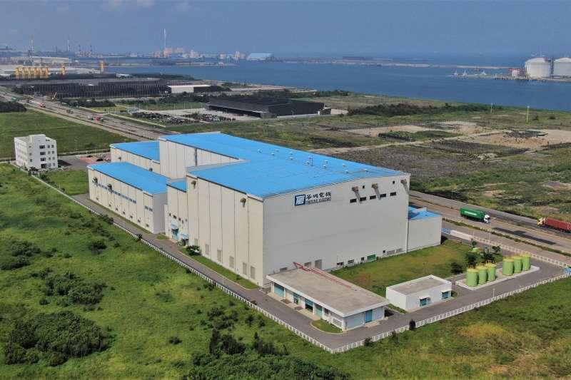 MHI Vestas與CIP合作的彰芳西島風場,將持續推動風機輪轂及機艙相關零組件最終組裝工作。(MHI Vestas提供)