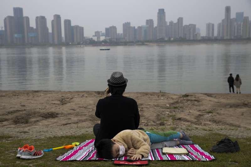 2020年4月,中國湖北武漢,新冠肺炎發源地(AP)