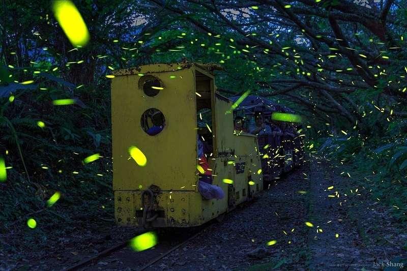 新平溪煤礦博物園區的「獨眼小僧」電車。(照片提供:新平溪煤礦博物館園區)