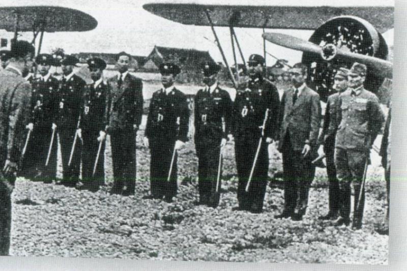 抗戰時的中華民國空軍至少有兩支,一是在重慶接受美國援助的抗日中華民國空軍,一為南京接受日本援助的親日中華民國空軍。(許劍虹提供)