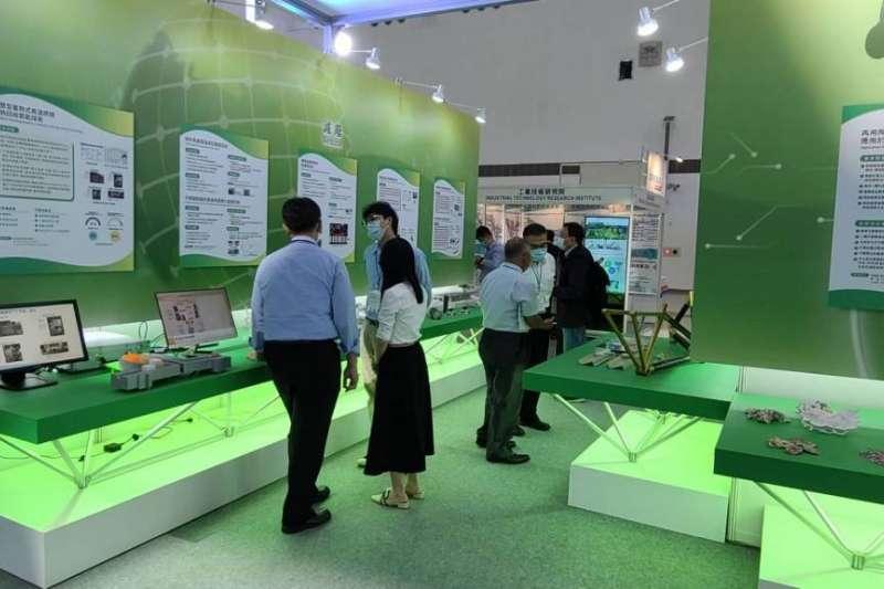 「TASS 2020亞洲永續供應循環經濟會展」金屬中心設攤參展,展示循環鋁材創新應用下的相關展品。(圖/金屬中心提供)