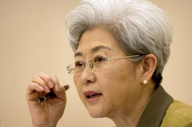 中國全國人大外事委員會副主任傅瑩投書《紐約時報》,要拜登政府不可介入台灣問題。(美聯社)