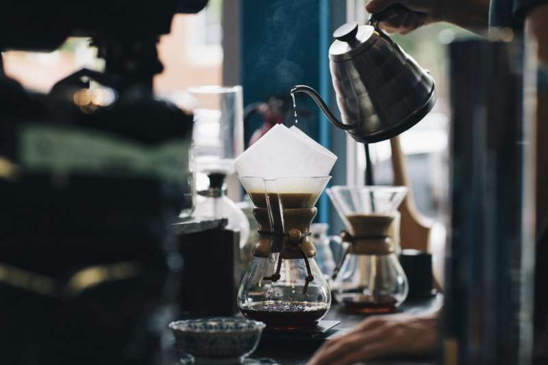 沖煮咖啡好不好喝看咖啡渣就知道?(圖/Unsplash)