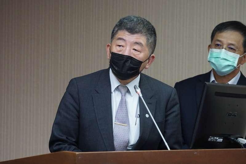 20201203-衛福部長陳時中3日於衛環委員會備詢。(盧逸峰攝)