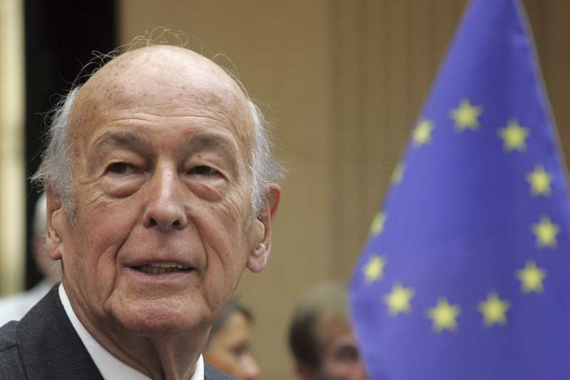 法國前總統季斯卡(Valery Giscard d'Estaing)(AP)