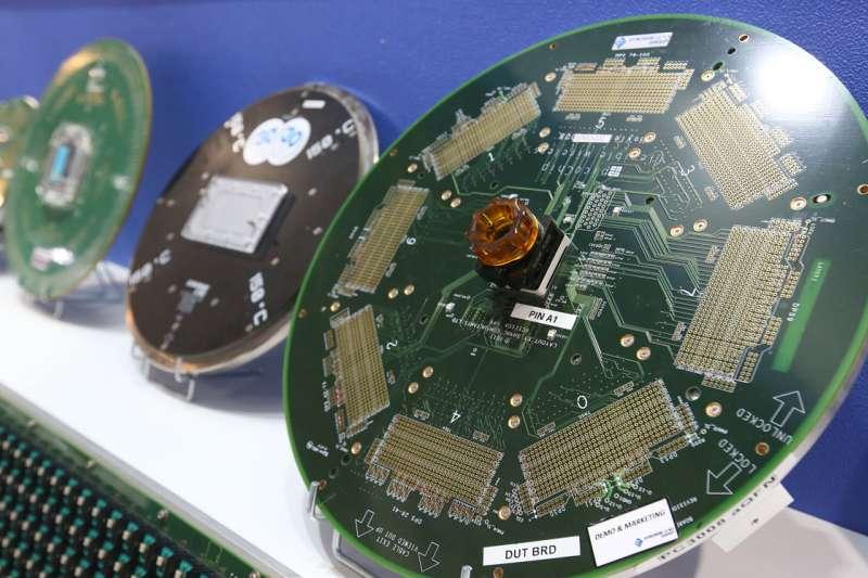 紫光一夢,看到的是中國漫漫的晶片自主路。(資料照片,柯承惠攝)