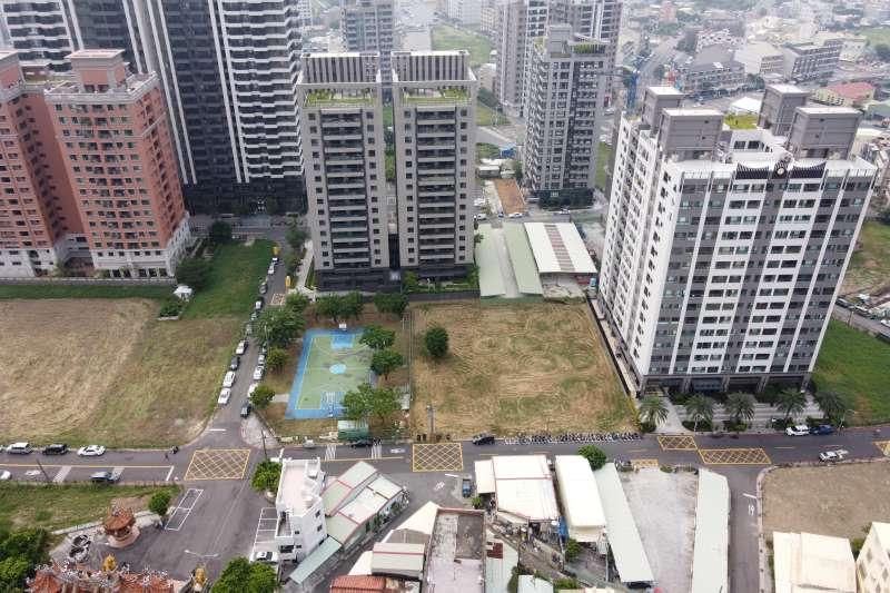 鳳山區推出第四季土地標售地。(圖/高市府地政局提供)