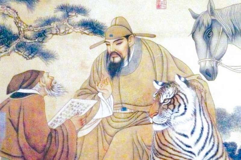 宋朝十惡不赦奸臣蔡京,也曾是勇於追夢的書法家。(圖/維基百科)