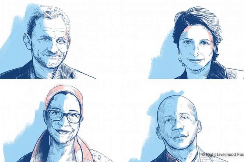12月3日晚上,在瑞典首都斯德哥爾摩舉行本年度「正確生活方式獎」頒獎典禮。4名獲獎者中只有1人能親自到場領獎。(德國之聲)