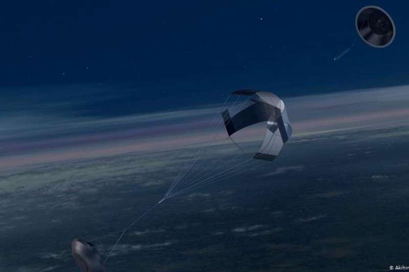 太空旅遊公司維珍銀河以火箭為動力,首度從美國新墨西哥州把載人太空船送上太空邊緣,明年甚至可能啟動太空觀光行程。(圖/DW)