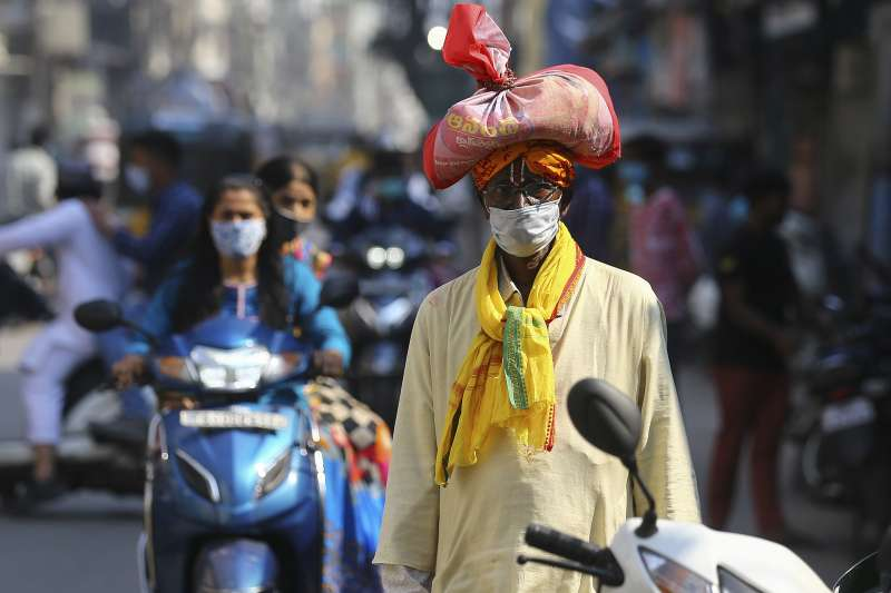 新冠肺炎:印度疫情(美聯社)