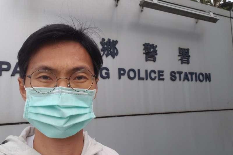 香港立法會前議員朱凱迪。(翻攝臉書)