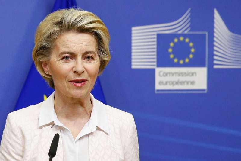 歐盟執委會主席馮德萊恩(Ursula von der Leyen)。(美聯社)