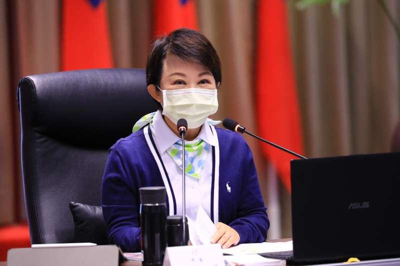 台中市長盧秀燕的網路聲量從上周第48名躍升第4。(資料照,台中市政府提供)