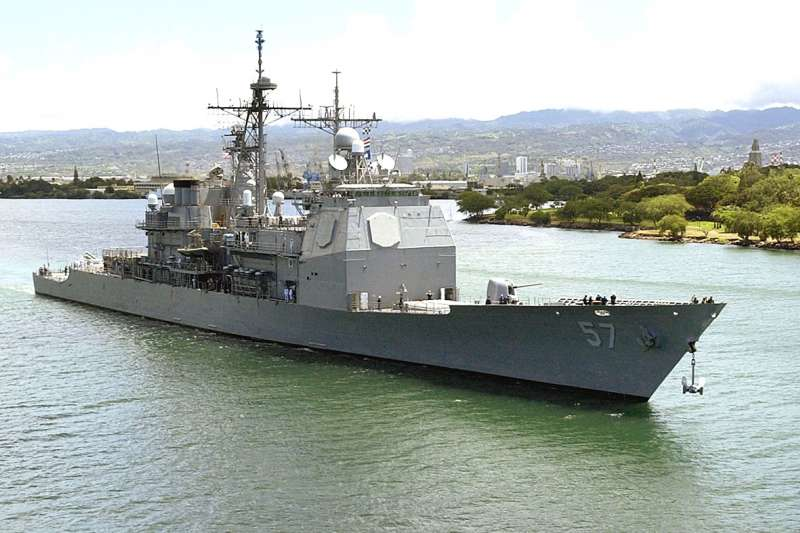 台灣爭取已久的美國的神盾艦傳出包含在52億元軍售案中。(翻攝自U.S. Pacific Fleet臉書)