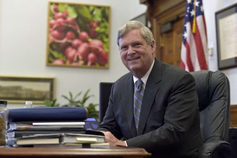 拜登新政府:美國農業部長人選維爾薩克(資料照,AP)