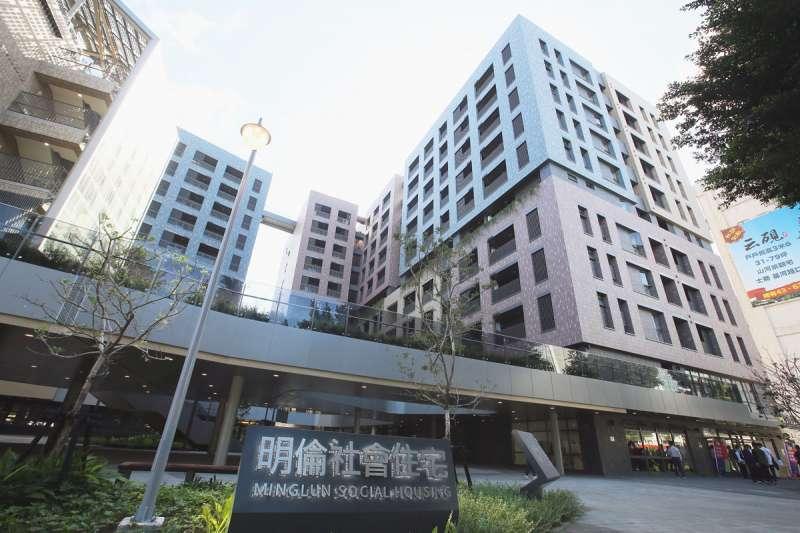 針對台北市明倫社會住宅三房型租金破4萬元,且沒配置冷氣與洗衣機等家電,進而引發社會輿論一陣譁然。(柯承惠攝)