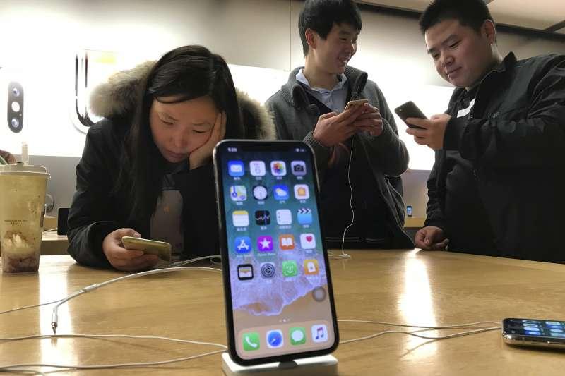 中國、手機、防火牆、APP(美聯社)