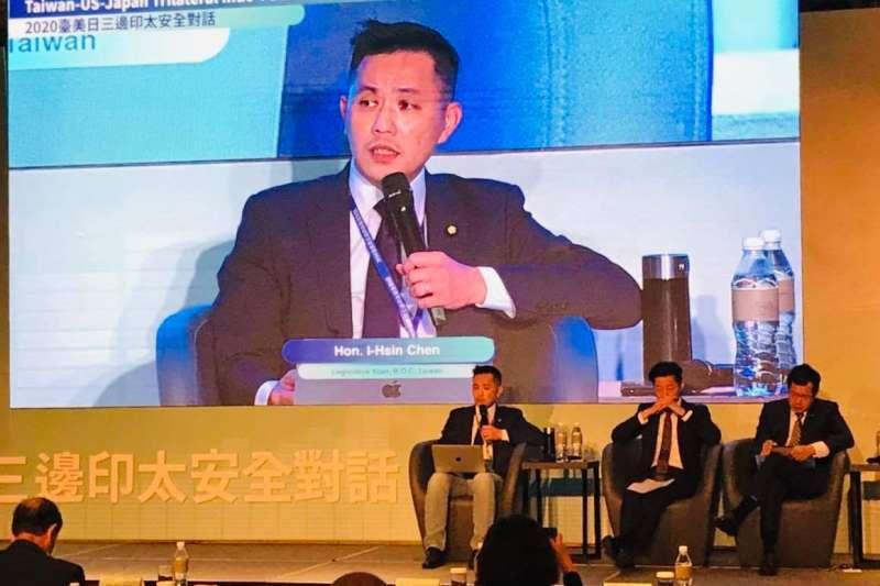國民黨立委陳以信(見圖)日前參加「2020台美日三邊印太安全對話」,並提出3項預測。(取自陳以信臉書)