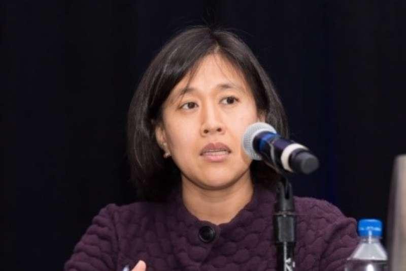傳拜登將提名戴琪為美國貿易代表,她出身台裔且能說流利中文,曾數次挑戰中國的貿易不公行為。(取自美中貿易全國委員會)