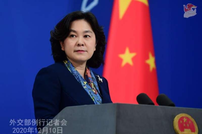 中國外交部發言人華春瑩比喻中國崛起如獅子王辛巴,如果為了國家尊嚴和國際正義做「戰狼」又何妨?(取自中國外交部官網)