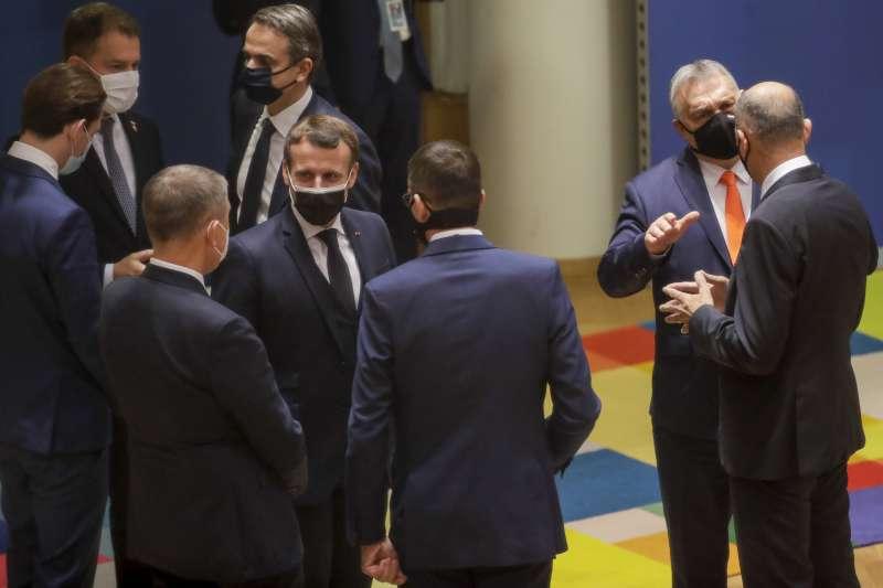 2020年12月11日,歐盟通過「2030年氣候目標計畫」(2030 Climate Target Plan),將在2030年之前減排55%(AP)