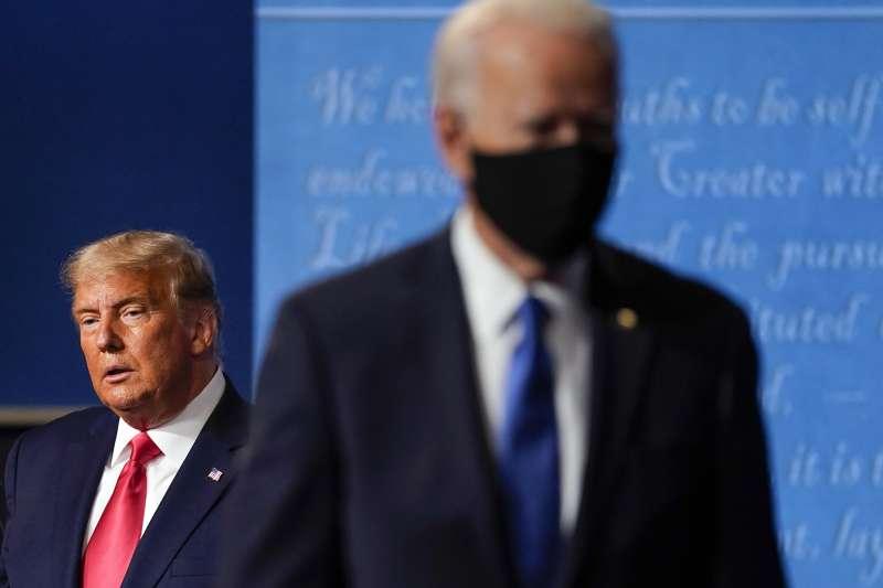 2020年美國總統大選勝出的拜登,不可能逆轉川普抗中的政策(AP)