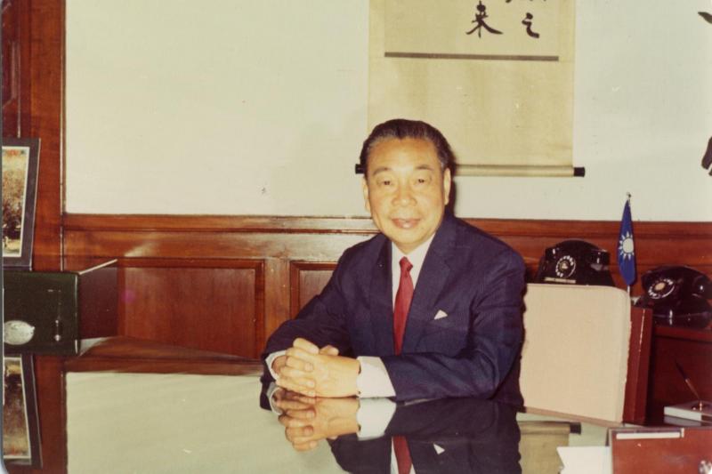 蔣經國晚年身影(國史館提供)