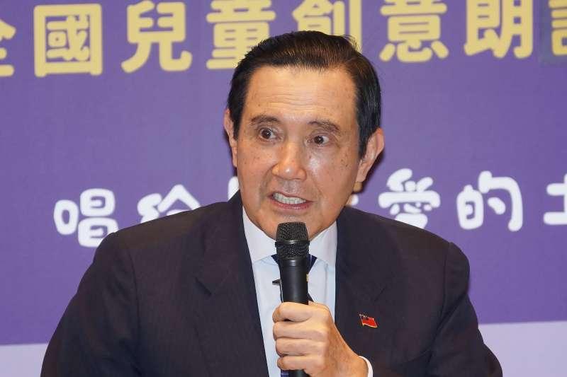 20201213-前總統馬英九13日出席「媽媽教我的詩」頒獎活動。(盧逸峰攝)