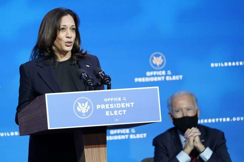 《時代》2020年度風雲人物:將成為美國正副總統的拜登與賀錦麗(AP)