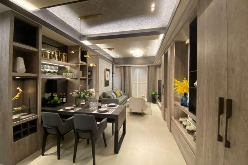 三房樣品屋,「久樘四季Villa」享有絕佳的視野、景觀、採光和棟距。(圖/客臨網拍攝)
