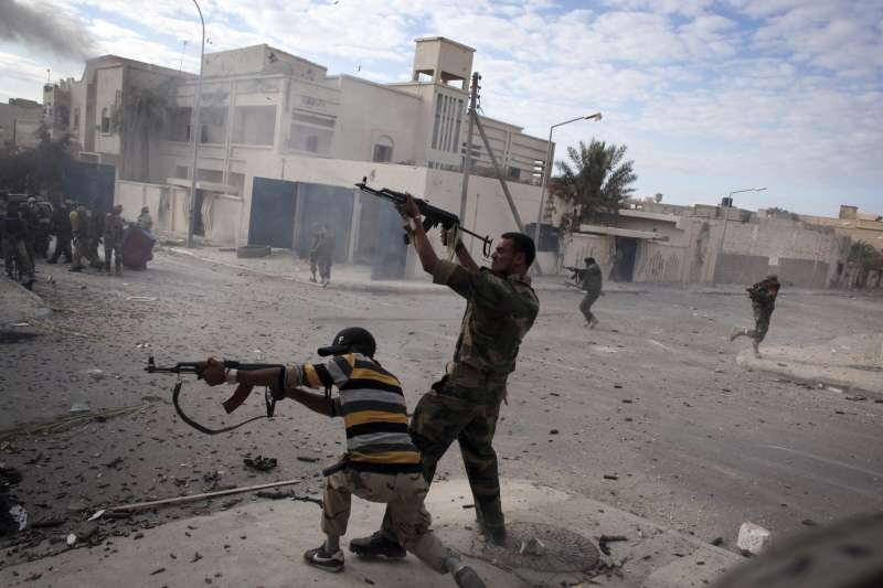 2011年爆發阿拉伯之春。(AP)