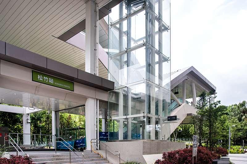 104松竹站為雙捷交會處,周遭商圈生活機能豐富。(圖/富比士地產王提供)