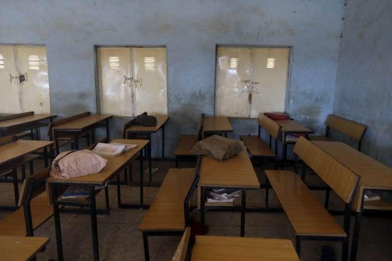 2020年12月11日奈及利亞逾300男學生被博科哈蘭綁架(AP)