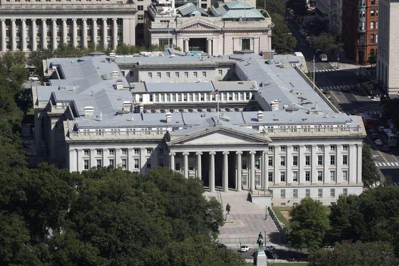 2020年12月,俄羅斯駭客攻擊美國政府與企業東窗事發,這是美國財政部(AP)