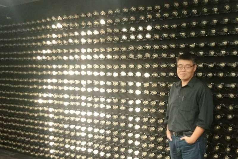20201219-李懷仁可望接任一卡通公司董座。(取自李懷仁臉書)
