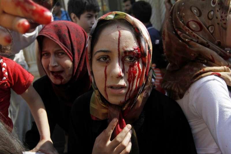 阿拉伯之春,敘利亞內戰,2012年8月(AP)