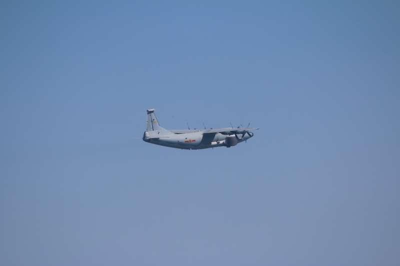 20201222-運-8遠干機。(空軍司令部提供)