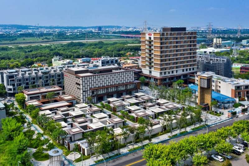 新光集團投資28億興建傑仕堡大樓,規劃 7700 坪複合式商務旅店,今年6月已完工。(圖/富比士地產王提供)
