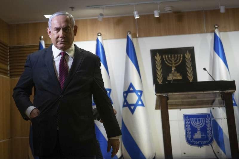以色列大選,以色列將舉行2年內第4次大選,聯合黨與藍白聯盟共組的內閣只撐了7個月。(AP)