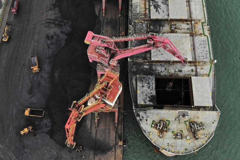 中國抵制澳洲煤炭進口。(美聯社)