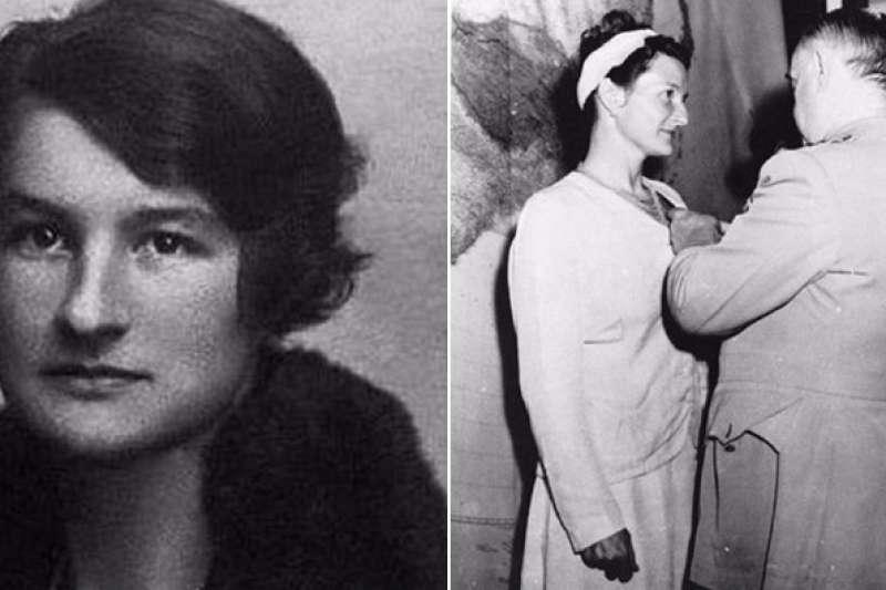 二戰時期,維吉尼亞‧霍爾(Virginia Hall)為英國情報機構最強「瘸腿」女間諜,連納粹人都對她感到十分害怕。(圖/取自UNBELIEVABLE FACTS)