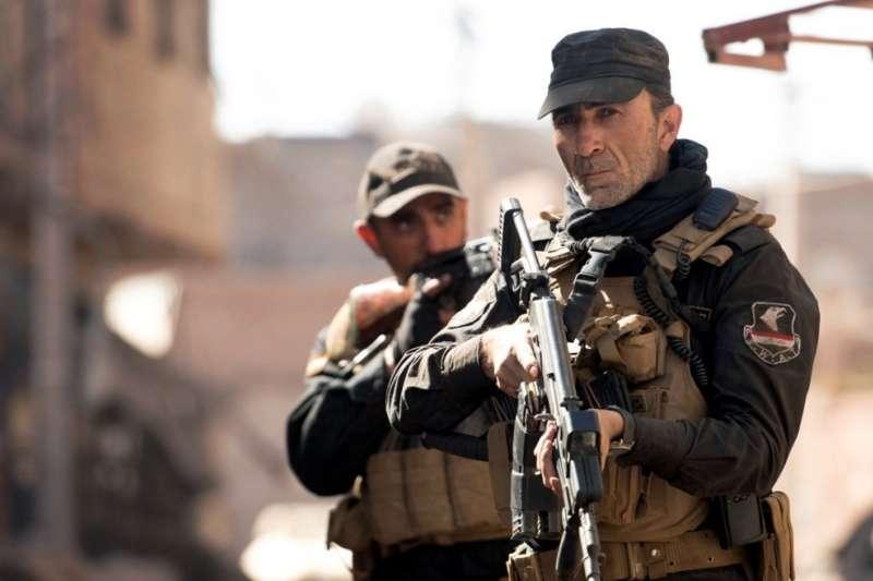 2020年底由網飛撥出的電影《血戰摩蘇爾》,有許多內容和筆者訪問過的抗戰老兵口述歷史高度重疊。(許劍虹提供)