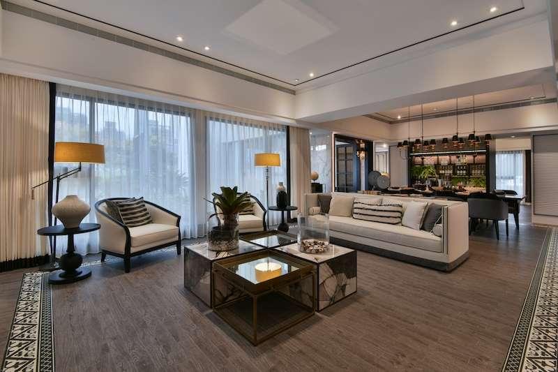 「京懋P&T國際宅」在桃園打響名號,在推案火熱的中路特區又有新案「京懋頤和」登場,公設與室內格局空間再度進化升級。(圖/業者提供)